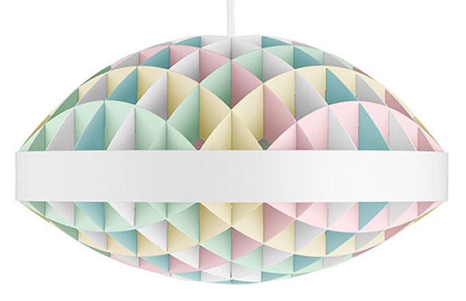 Kouzelná geometrie závěsného svítidla Tint