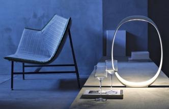 Stolní lampa Anisha Grande, design Lievore Altherr Molina