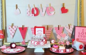Svatý Valentýn je dveřmi. Inspirujte se ... (foto: fete-a-fete.blogspot.com)