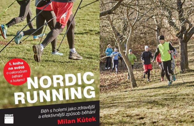 Pozvánka na křest nové knihy Nordic running