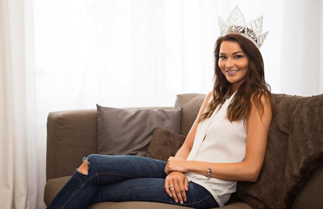 Bydlení České Miss 2015 Nikol Švantnerové