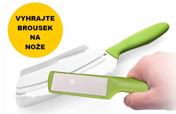 Soutěž o brousek na keramické nože od Tescomy