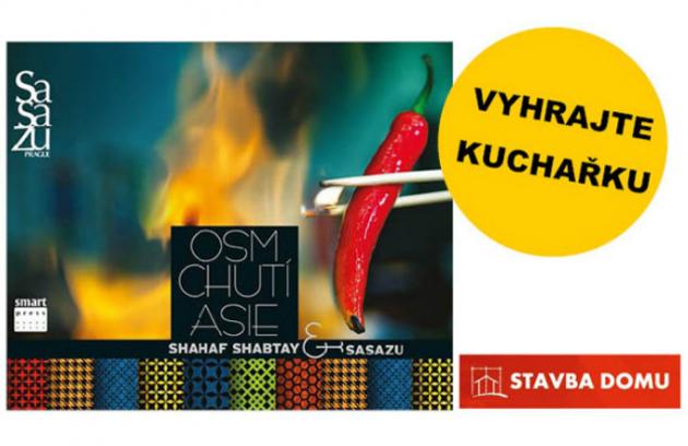 Celý měsíc duben můžete soutěžit s portálem Stavbadomu.net. Tentokrát na vybraného výherce čeká originální kuchařka Shahaf Shabtay & SaSaZu: Osm chutí Asie z nakladatelství Smart Press.