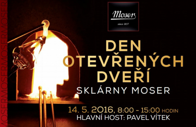 Pozvánka: Den otevřených dveří sklárny Moser
