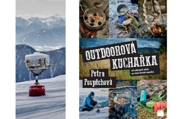 Outdoorová kuchařka od Petry Pospěchové je nepostradatelnou knížkou pro všechny, kdo vyrážejí na výlet či trek a nespokojí se s instantními polévkami nebo konzervami.