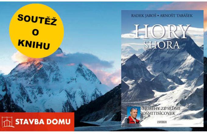 Partnerský web Stavbadomu.net připravil květnovou soutěž o knihu Hory Shora, kterou vydala Euromedia Group k.s. Zúčastnit se můžete i vy!