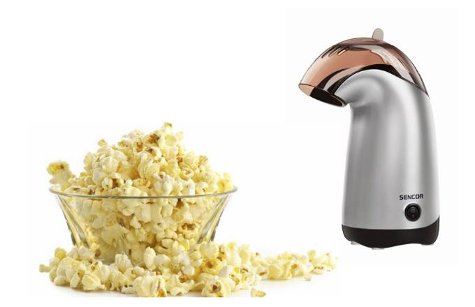 Vyznavači zdravého životního stylu zajisté uvítají jako pomocníka popkornovač SPM 8023 NRE značky Sencor, který snadno a rychle připraví popcorn bez tuku.