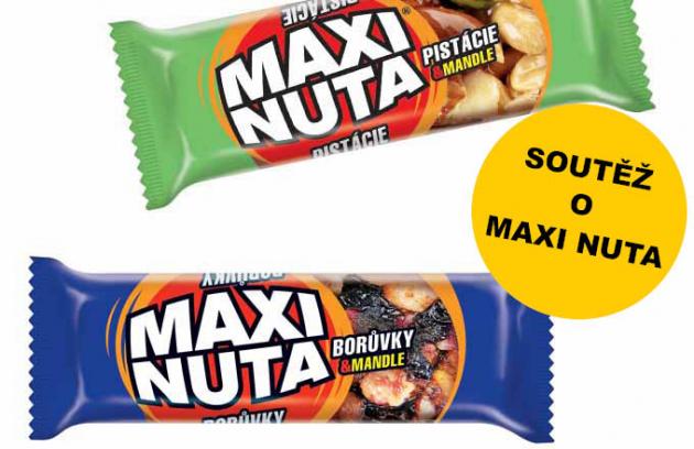Soutěž: vyhrajte tyčinky MAXI NUTA