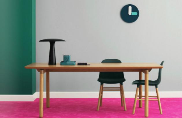Tučné hodiny v podání dánského designéra