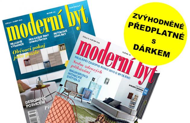 Předplaťte si Moderní byt a vyberte si dárek