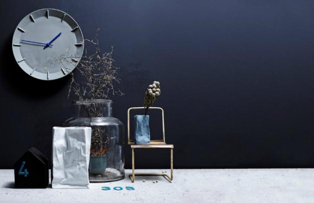 Porcelánové nástěnné hodiny ze série Mitis, O 28 cm, barva mint, kovové ručičky, design Sebastian Herkner, vyrábí Rosenthal, cena 6 395 Kč, www.polyvore.com