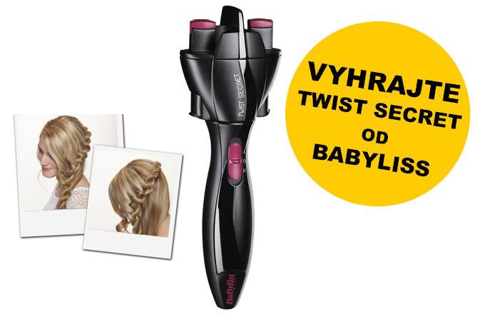 Letní soutěž o Twist Secret od BaByliss