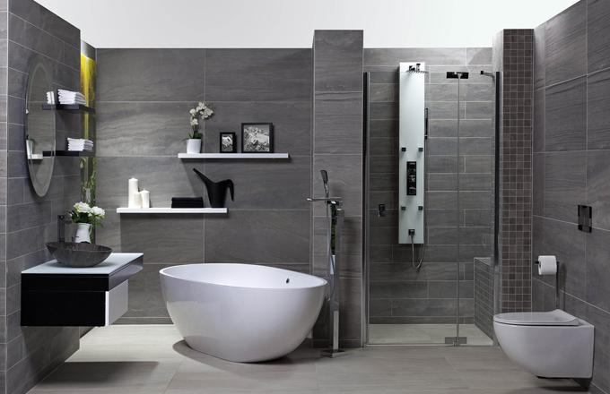 Vsaďte na kámen. Posuňte styl vaší koupelny na zcela jinou úroveň. Použijte kámen a dokonalý efekt bude zaručen!