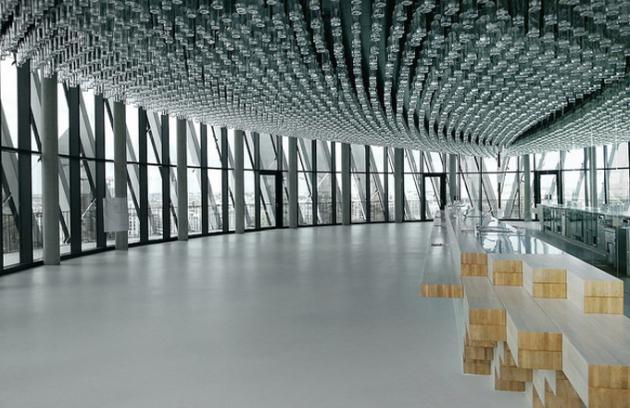 La Cité du Vin nové kulturní centrum ve francouzském Bordeaux (Foto © XTU)