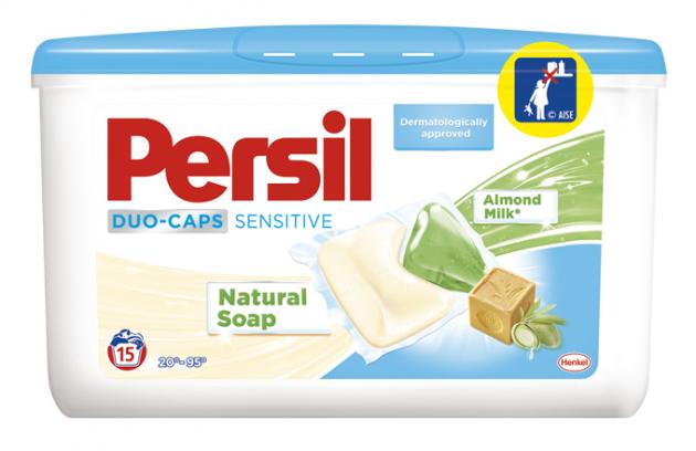 Persil Sensitive: Silný proti skvrnám, citlivý k vaší pokožce