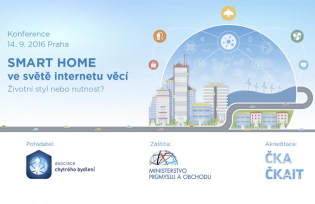 Pozvánka: 2. ročník konference SMART HOME ve světě Internetu věcí