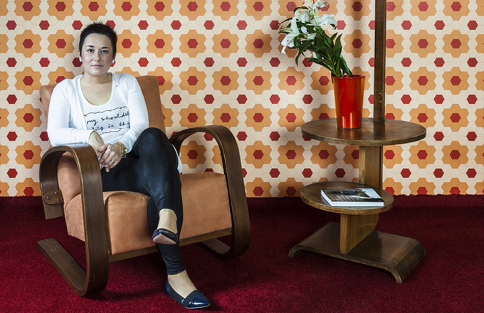 Designérka Iva Bastlová má ráda retro styl