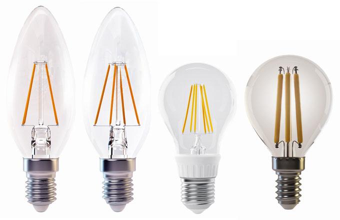 Pokud zákazník hledá úsporný světelný zdroj, který svým vzhledem připomíná klasickou vláknovou žárovku, lze doporučit LED žárovky typu filament.