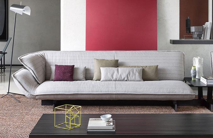 Patricia Urquiola se zhostila nové role art directora pro výrobce Cassina se ctí. Prvním, ale jistě ne posledním důkazem budiž její Beam Sofa System.