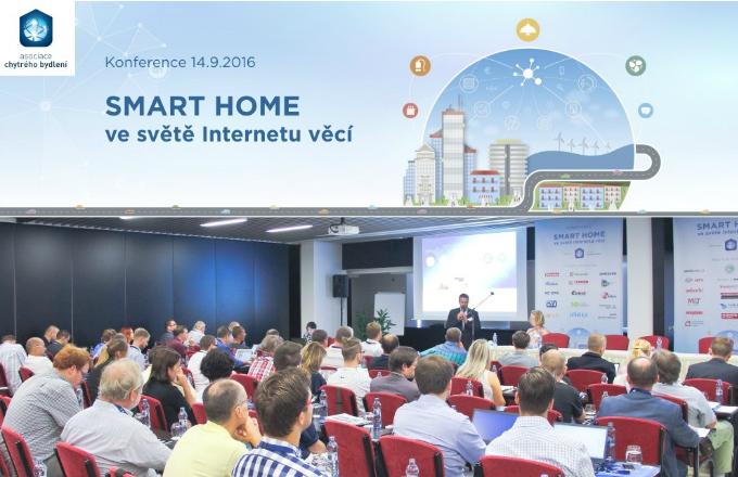 Na konferenci Smart home ve světě Internetu věcí zavítalo přes 110 zájemců o moderní technologie