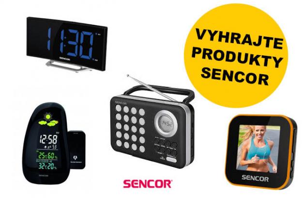 Výherci soutěže o produkty Sencor