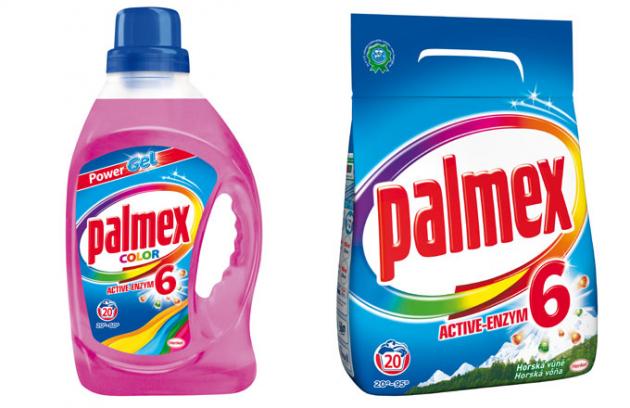 Nový Palmex Active-Enzym 6 – Opravdový pomocník proti skvrnám!