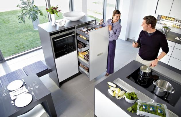 Potravinová skříň se zásuvkovým systémem InnoTech