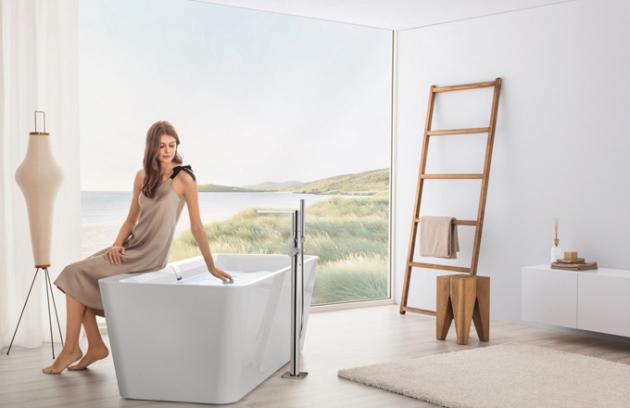 Splněný sen o dokonalé, designové koupelně