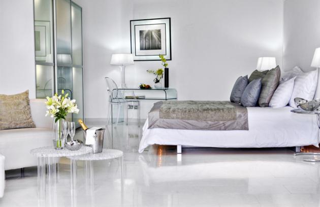 6 různých stylů maltského hotelu - light suite