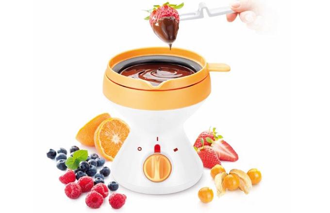 Horké a hříšně dobré čokoládové fondue