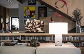 Sharon, beton a umělý kámen, ruční výroba, O 40 cm, design Ramón Úbeda a Otto Canalda, cena na dotaz, www.metalarte.com