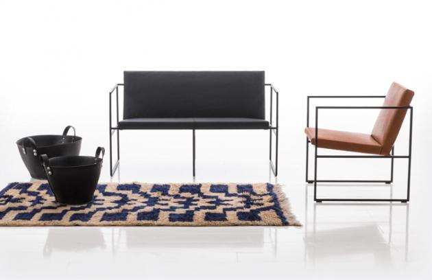 Geometrie obsadila sedací nábytek!