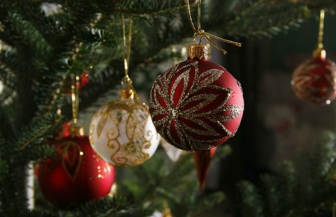 Tradiční ozdoby: originální vánoční koule (foto: Glassor)