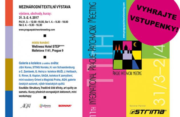 Vyhrajte vstupenky na Prague Patchwork Meeting