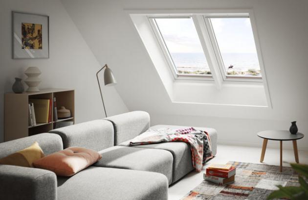 7 jednoduchých kroků k zářivě čistým oknům (foto: VELUX)