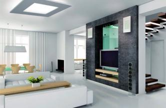 Stropní osvětlení ST 127, rozměr 80 x 80 cm, provedení přírodní tvrzená sádra ekolit, Eco design, cena od 17 136 Kč