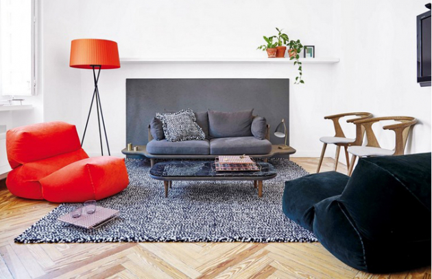 Ručně tkaný koberec ze 100% vlny z kolekce Waan, design Dienke Dekker, k dispozici je 5 barevných odstínů a 3 různé rozměry, Gan, cena od 31 000 Kč, www.onespace.cz