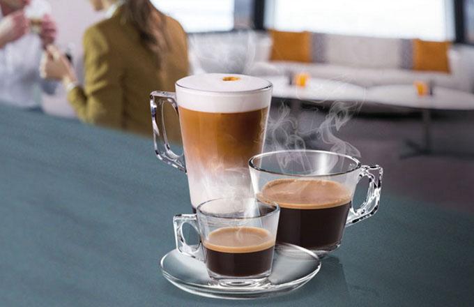 Čerstvá káva připravená jedním dotykem