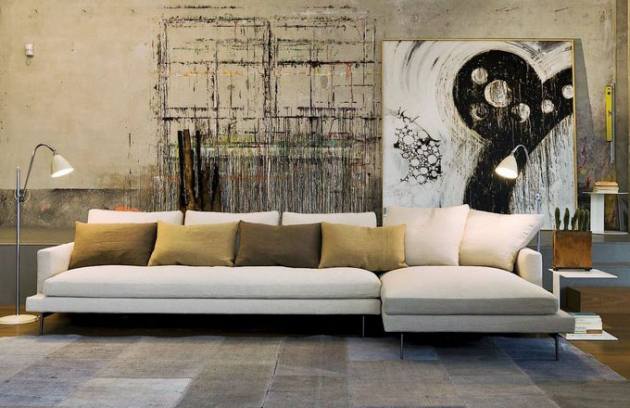 Multifunkční pohovka Larsen, masivní dřevo a překližka, výběr čalounění látkou či kůží, design CRD Studio, Verzelloni, cena 220 000 Kč