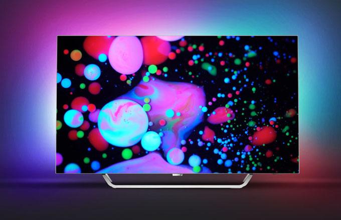 Nová kolekce Philips TV 2017 s technologií Ambilight pro ještě intenzivnější požitek z barev (9002 OLED)