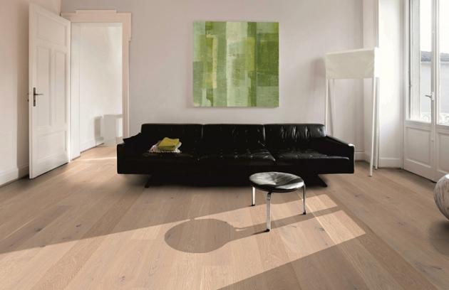 Podlaha jako dominantní ozdoba bydlení - dřevěná