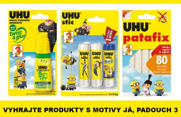 Soutěž o 10 balíčků s produkty značky UHU