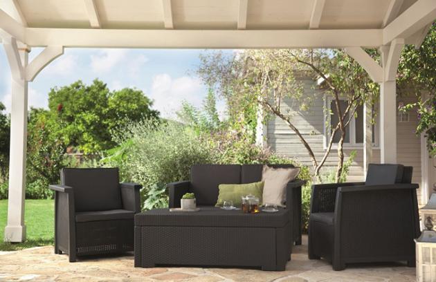 Zahradní nábytek – správný výběr a péče
