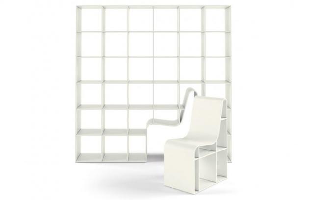 Bookchair – když se židle spojí s knihovnou
