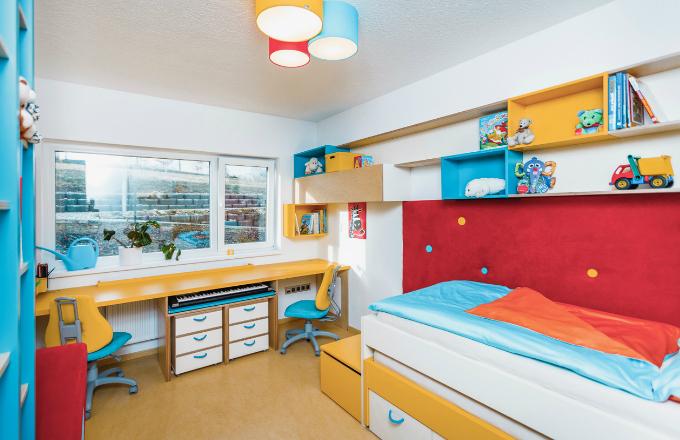 Dětský pokoj v malém prostoru? Žádný problém!