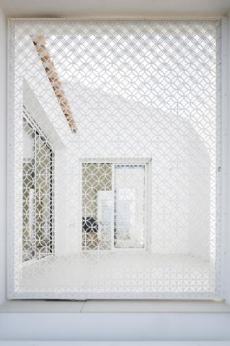 Architektonický prvek Moucharabieh je typický pro arabskou architekturu 17. a 18. století