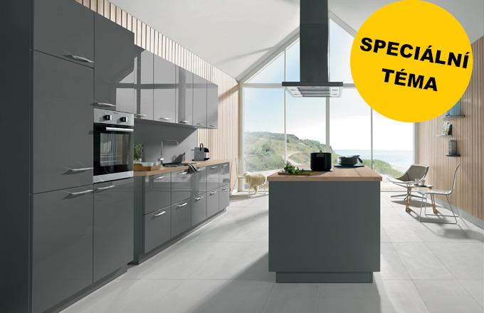 Moderní kuchyně: 3x jinak, 3x originálně