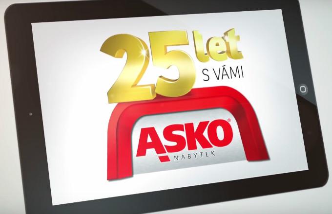 Od prvního otevření prodejny ASKO – NÁBYTEK uplynulo neuvěřitelných 25 let!