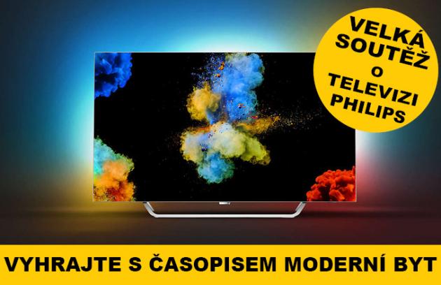 Kupte si Moderní byt a vyhrajte TV Philips!