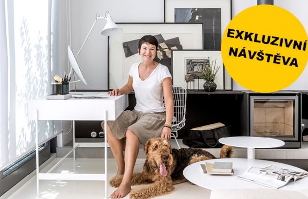 Jak bydlí zahradní architektka Zuzana Mojdlová?